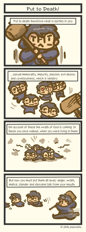 Colossians put to death the sin tatcomic.jpg